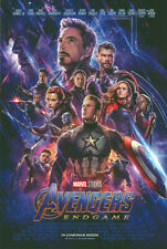 Avengers Endgame - original DS movie poster 27x40 D/S  End Game FINAL - INTL