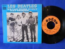 LES BEATLES SP SO 10133 ORIGINAL FRANCE VG+