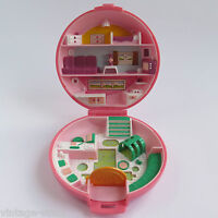 Polly Pocket BUTTON'S ANIMAL HOSPITAL 1989 COMPACT ONLY | Vintage Bluebird Toys