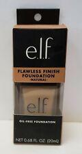E L F Cosmetics Flawless Finish Foundation Oil Free Natural 0 68 fl oz 20