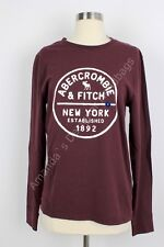 Abercrombie & Fitch By Hollister Men's Long Sleeve Tee T Shirt Size S NWT