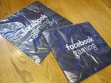 FACEBOOK Gaming Logo Mousepad Mouse Pad Computer BRAND NEW Blue Neoprene Large