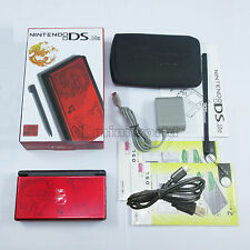 Brand New Crimson & Black Dragon Nintendo DS Lite HandHeld Console System +gifts