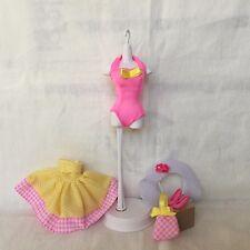 "Barbie Doll ""Fun Picnic""  Outfit Set w/ Accessories - 1990s Mattel"