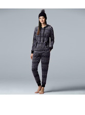 NWT Simply Vera Wang Plus Size Pajamas Long Pant Long Sleeve /& Socks XXL