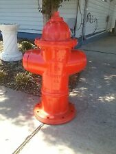 """1995 RETIRED MUELLER 5 1/4"""" FIRE HYDRANT ALBERTVILLE--AL. 2 VALVE"""