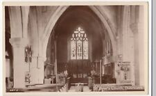 Warwickshire; St Peter's Church, Dunchurch, Interior RP PPC, Unposted