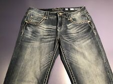 Miss Me Signature Straight Jeans 30 x 33.5