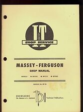 MASSEY-FERGUSON I&T SHOP MANUAL  MF2745 / MF2775 / MF2805 TRACTORS / MF-39
