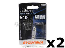 Saab (79-03) LED Bulb 6418 12V-1W Glove Box Licens Light Vanity Mirror SYLVANIA