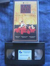 DEAD POETS SOCIETY VHS VIDEO. EAN: 5017184094720. Williams, Hawke. Cert.PG