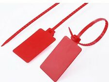 20pcs Large signs plastic seal cable tie tag Logistics strip 425mm long NEW
