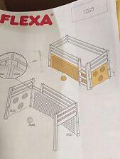 FLEXA BALL AND NET COMBO FOR LOFT BED-  3 PCS  #73225  NIB!  GREAT DEAL!