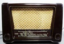 Vintage Radio - Kleines SABA Triberg W52 - KW-LW-MW Bakelit Röhrenradio 1951-52