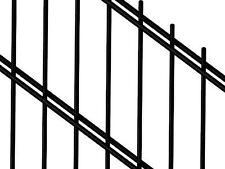 Stabgitterzaun Grid Fence Kpl with post Etc 35m 163cm Black