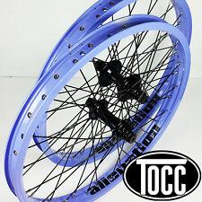 """BMX Wheels Sealed Cassette 20″x 1.75"""" Wheel-set W/9T Driver (Lavender)"""