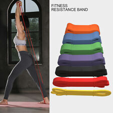 Fitness Heavy Elastic Resistance Tension Band Pull-Ups Buttocks Up Power Lifting