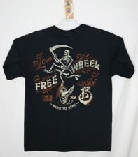 Lucky 13 Free Wheel Men's T-Shirt Here to stay