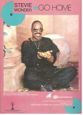 """Stevie Wonder """"Go Home"""" Sheet Music-Piano/Vocal/Guitar Chords-1985-New On Sale!"""