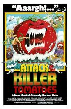 Attack Of The Killer Tomatoes Movie Poster Large 24inx36in