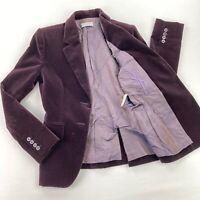 VTG Yves Saint Laurent Rive Gauche Women's Velvet Blazer/Jacket YSL • Size 36 FR