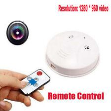 Mini 32GB Spy cámara espía Detector de humo alarma vídeo DV DVR niñera Ocultos