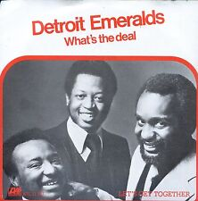 7inch DETROIT EMERALDS what's the deal HOLLAND EX+1978