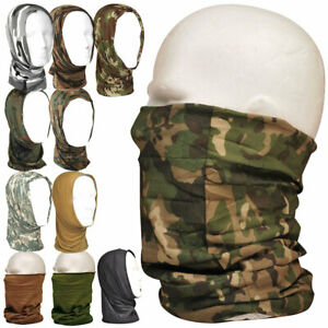 MIL-TEC HEADOVER Tactical Military Snood Neck Warmer Balaclava Mask Hat Scarf