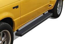 """iBoard Running Boards 5"""" Matte Black Fit 99-11 Ford Ranger Super Cab 4 Door"""