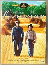 Of Mice and Men DVD 1992 John Steinbeck Classic w/ Gary Sinise + John Malkovich