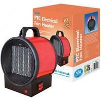 Prem-I-Air 2kW Electrical Blow Utility Steel Fan Heater Garage Workshop Camping
