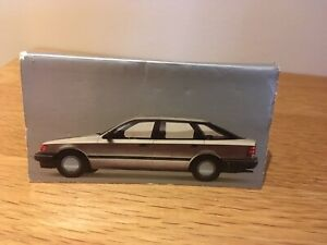 Vintage Rare 1985 Ford Granada Promotional Matches