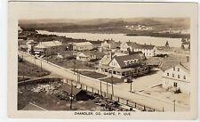 CHANDLER: Quebec Canada postcard (C9368)