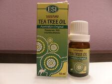 ESI TEA TREE OIL olio essenziale di melaleuca 10 ml antibatterico e antimicotico