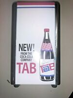 Vintage Tab from Coca Cola Table Top Napkin Dispenser Excellent Condition