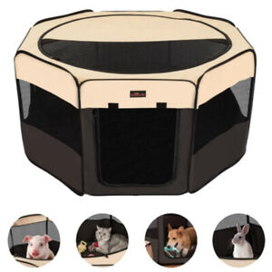 Large Indoor Rabbit Hamster Cage Portable Small Pet Playpen Without Accessories