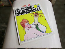 WILLEM . LES CRIMES INNOMMABLES . EO . 1983 .