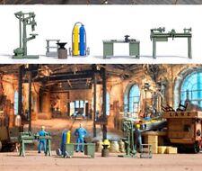 Busch 1185 - 1/87 / H0 Werkstatt Einrichtung Mit Maschinen - Neu