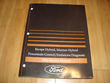 Ford 2006 Escape Hybrid Mariner Powertrain Control Emissions Service Manual MWI