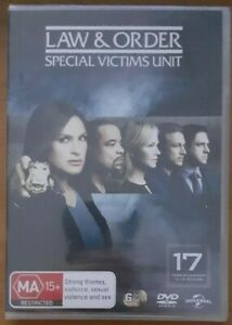Law And Order - Special Victims Unit : Season 17 (DVD, 2016, 6-Disc Set)
