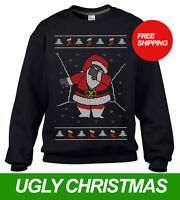 DABBING SANTA CHRISTMAS SWEATER