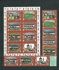 SOMALIA 1999 : ALBUM PAGE WITH COMPLET SET +  SHEET MNH - THEMATIC/FOOTBALL