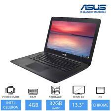 "ASUS Chromebook C300SA 13.3"" Light Weight Laptop Intel Dual Core, 4GB RAM, 32GB"