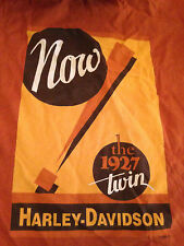 Harley Davidson Burnt Orange T-shirt, Small, Now The 1927 Twin, HD Museum