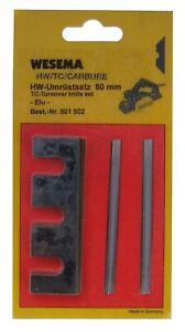 UMRÜSTSATZ Hobelmesser auf Wendemesser für ELU MFF40 MFF80 MFF81 made in germany