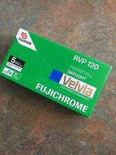 Fujifilm Fujichrome RVP Velvia Film 5 Rolls Expired/refriegerated