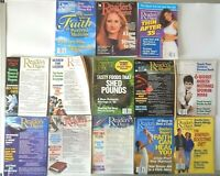 Lot of 13 Reader's Digest Magazines 1989 - 2000