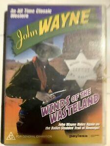 WINDS OF THE WASTELAND - DVD Region 4 - John Wayne GOOD CONDITION