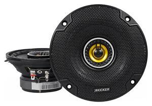 """Pair KICKER 46CSC44 4"""" 300 Watt 4-Ohm 2-Way Car Audio Coaxial Speakers CSC44"""