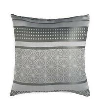 Geo Jacquard Cushion Cover - Silver - 43 x 43cm - Set of 3 - SS03 40